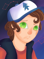 Gravity Falls-Dipper Pines by Sentientlover800