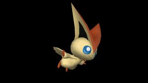 Flying Victini by riolushinx