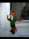 Robin Hood plushie by Quomlon