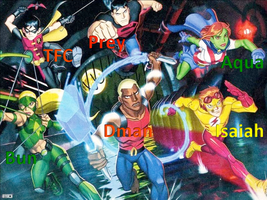 Young Justice Cast Picture by isaiahcow1