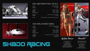 SHADO RACING 1 by TALONRIDDER
