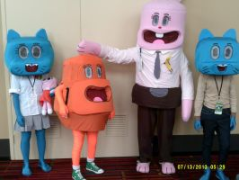 Amazing World of Gumball by BrinyCosplay
