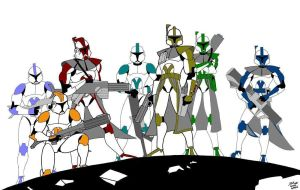 clone troopers by mcq23