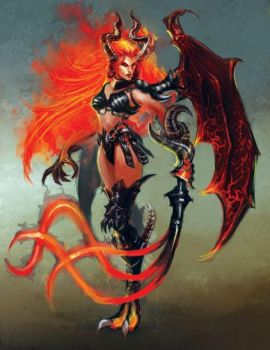 Succubus by ZoeJanee