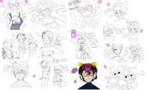 livestream doodles hey hey by Costly