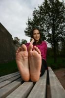 POV Soles of feet by foot-portrait