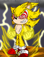 Fleetway super sonic by Magnum13