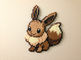 Eevee - Fuse Beads by chocovanillite