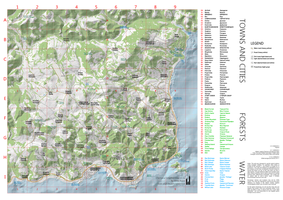Chernarus Simplified Map (v1.1w, white background) by WhiteRAZOR