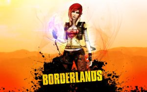 Borderlands Siren Wallpaper by TruePrince