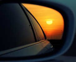 Sunset from the mirror by SANDYFOTOGRAFIA
