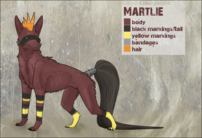 Martlie Reference Sheet by muffinonie