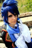 .:Vocaloid: blue aristocrat:. by CatZombie