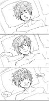 sketch comic - Ten More Minutes by rosarona