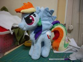 Rainbow Dash Plush by ferbii