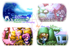 Seasons... ouo.. by jenellerawr