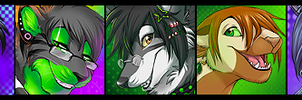 Icon Commission Batch by Majime