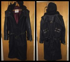 Jacob Frye coat (front/back) by TimeyWimey-007