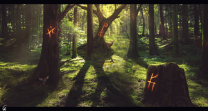 Arcane Forest by RobertoGatto