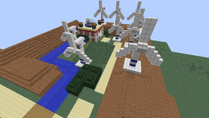 Minecraft Sinnoh:Valley Windworks by NinjaKirby144