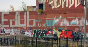 Wall of Graffiti by EndOfGreatness