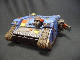 Custom Battlewagon by Solav