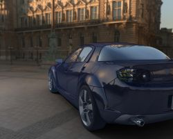Mazda RX 8 by Monkeyshack