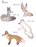 Foxes by Nikepz