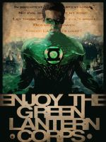 Enjoy the green lantern corps by Luckino