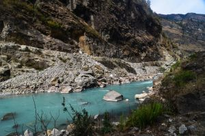 Annapurna Circuit - Day 3 - River by LLukeBE
