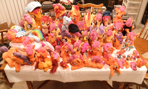So Many Scootaloos! by DeadParrot22