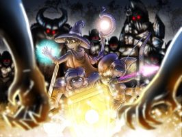 Game on! W.i.t.c.h by Banditcat123