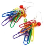 Paperclip Earrings by fairy-cakes