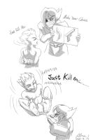 Tickle Comic5 Just kill me PLZ by Alma1129