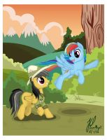 Daring Do and the Flying Cupcake by teammagix