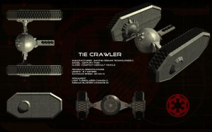 TIE Crawler (Century Tank) ortho by unusualsuspex