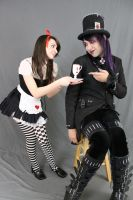 Dark alice and Mad hatter 13 by MajesticStock