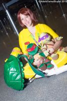 New York Comic Con 2015 - April O'neil by VideoGameStupid
