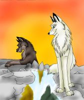 balto and aniu by hecatehell