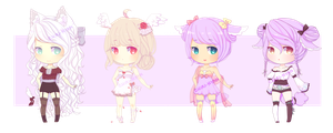Adopt Auction batch 10 1/4 [Open] by Chiri-nyan