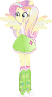 Equestria Girls: Fluttershy Rainbowfied by TheShadowStone
