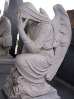 Rossville Cemetery Statue 28 by Falln-Stock
