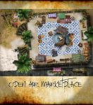 Open Air Marketplace by ladnamedfelix