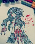 Blood Red Mash Mess by koyukihazuki