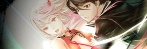 Guilty Crown: Inori + Shu sign by AleatoryR