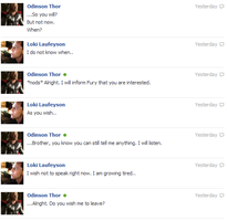 Thor and Loki FB convo 13 by JadenTheFangirl