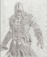 Connor Assassin's Creed III by MechSquadron