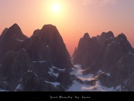 TerraGen: 'Just Peachy' by dynomyte