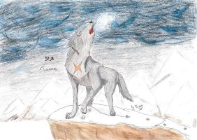 Tsume's howl by punki123
