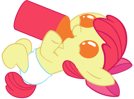 Lunchtime, Applebloom! by Beavernator